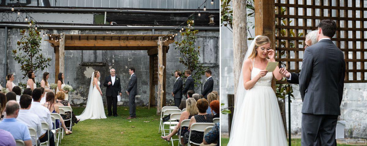 loflin yard wedding ceremony