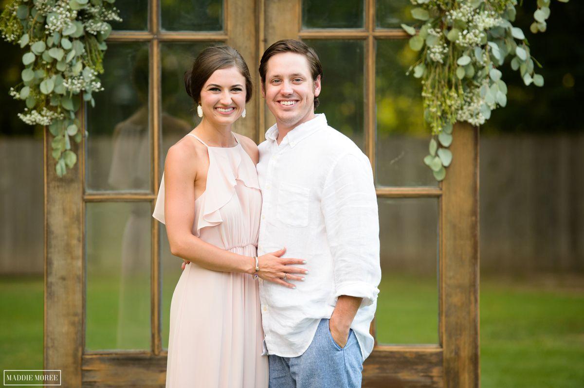 past bride/groom photo