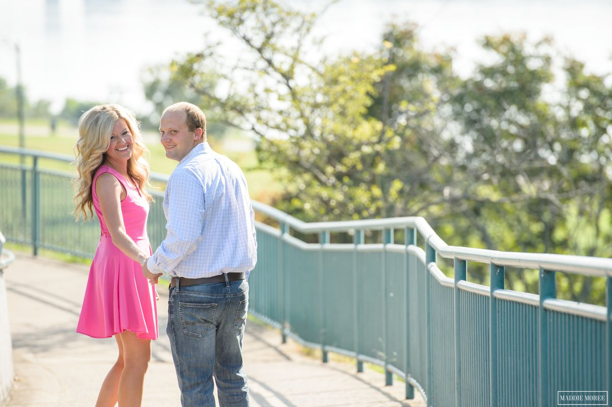 memphis riverwalk engagement