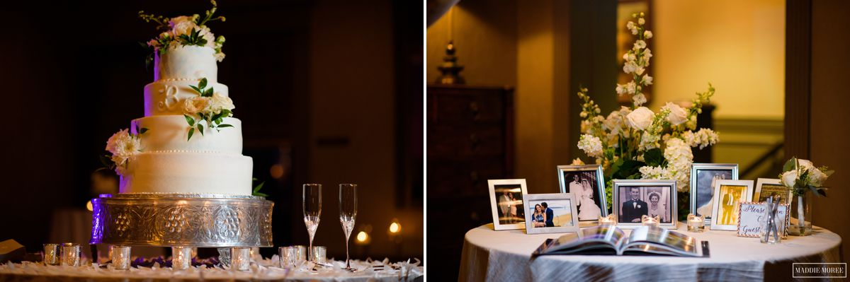 Chickasaw Country Club Memphis Wedding reception