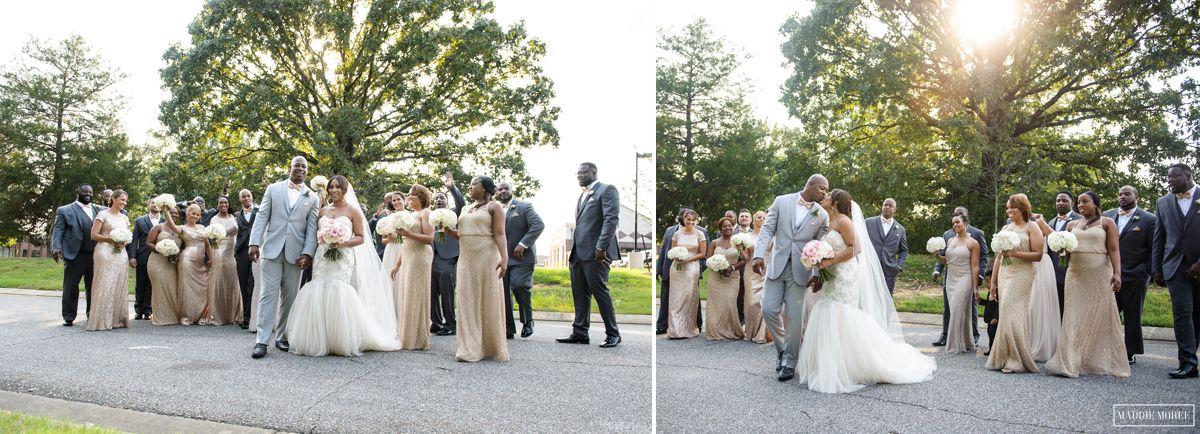 full wedding party