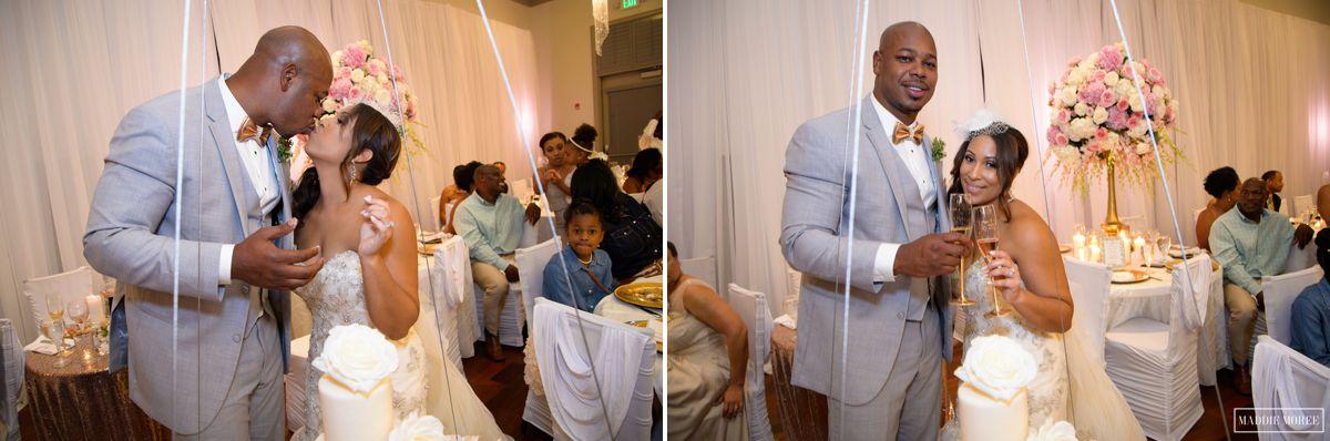 cake cut wedding photography