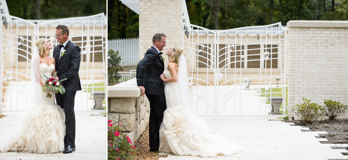 Guesthouse at Graceland wedding photography bride and groom