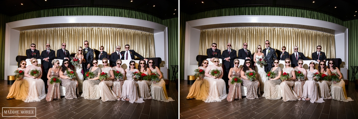 Guesthouse at Graceland wedding party photography