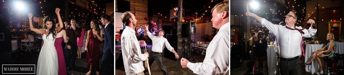 wedding reception maddie moree