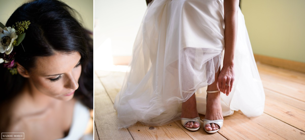 Bridal getting ready loflin