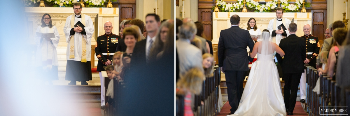 Calvary Church Maddie Moree wedding