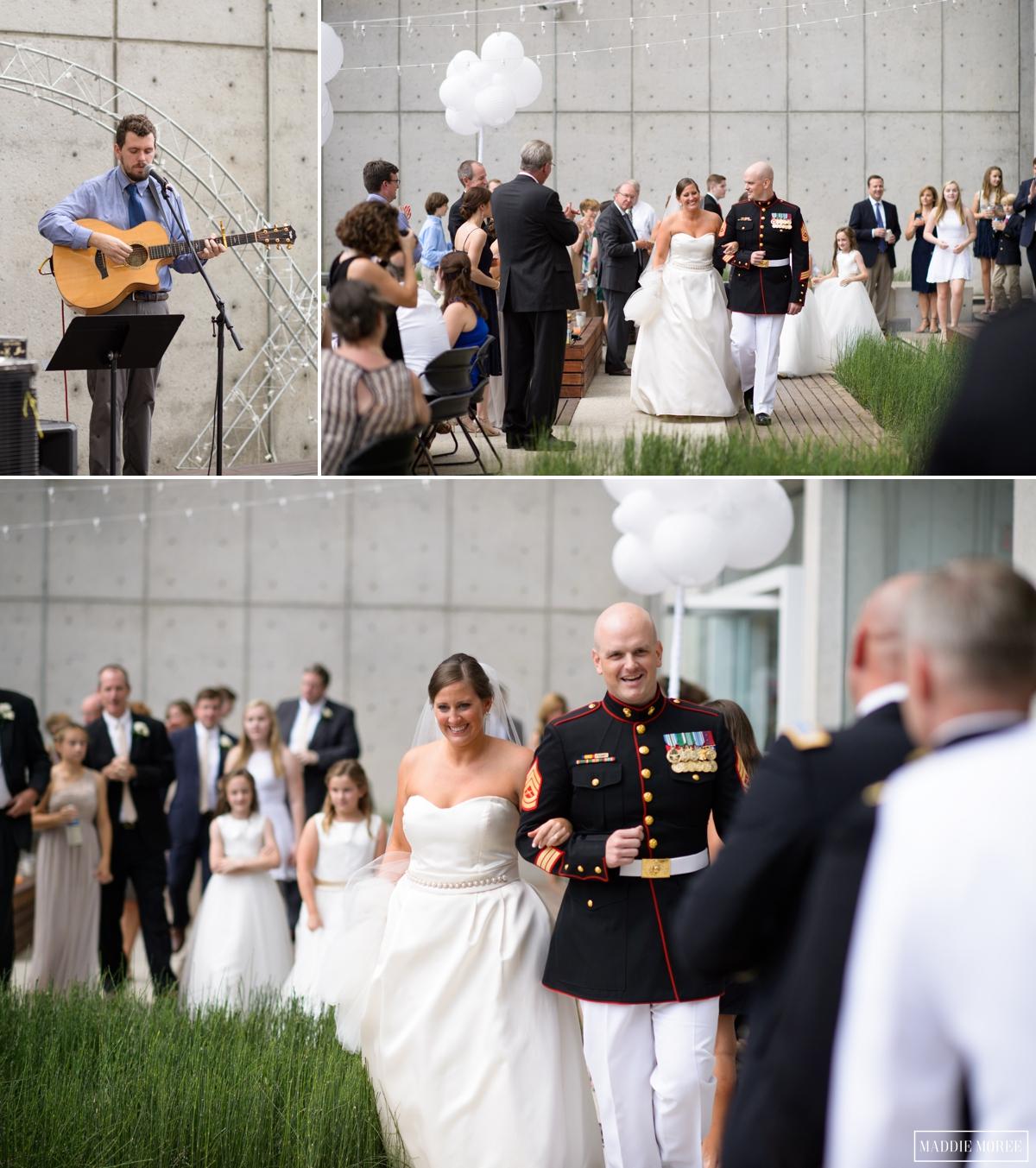 Bride groom introduction maddie moree