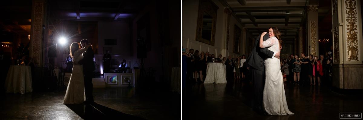 cadre reception first dance photos