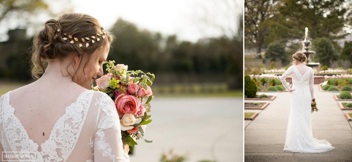 Bridal portrait Botanic Memphis