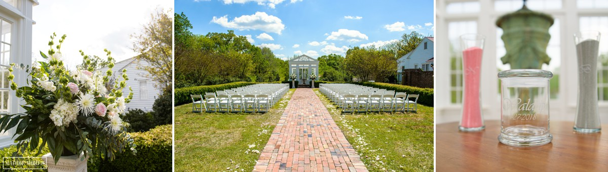heartwood hall spring wedding