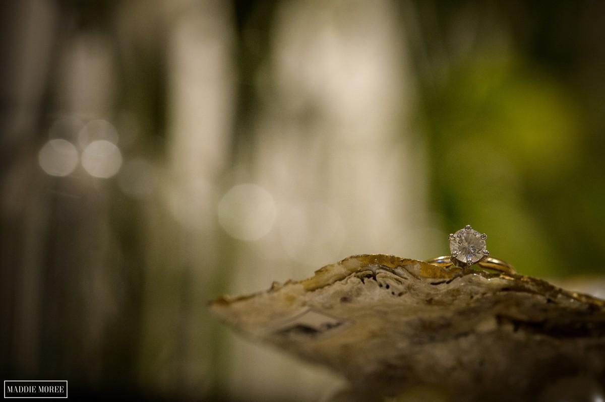 engagement ring details maddie moree