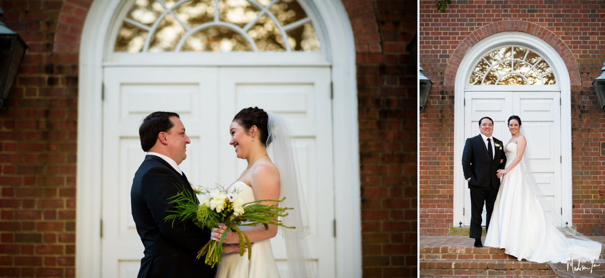 bride and groom portraits maddie moree