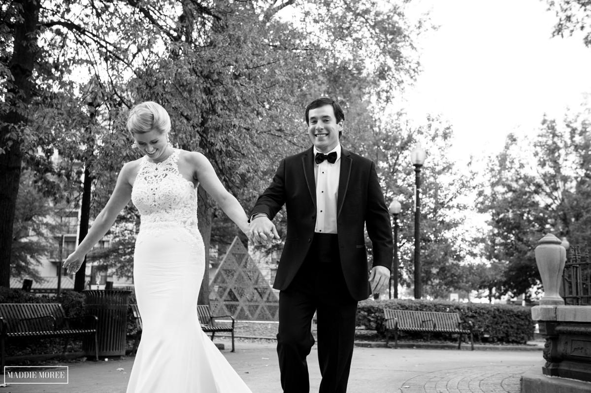 Bride groom portraits cadre