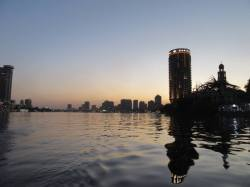 View from the River Nile