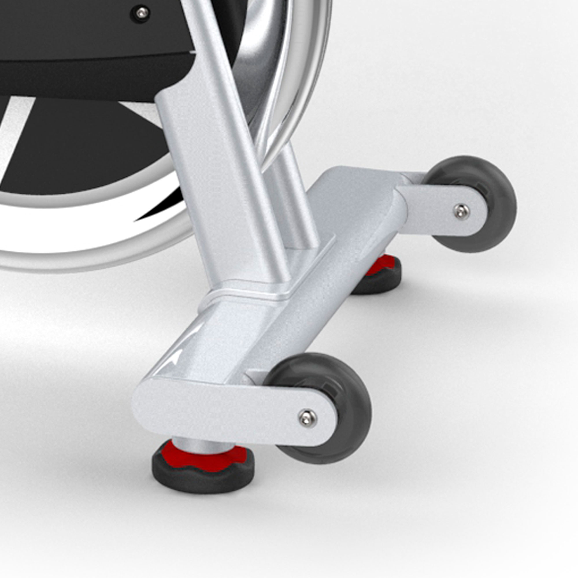 hight resolution of easy transport wheels and stabilizer feet