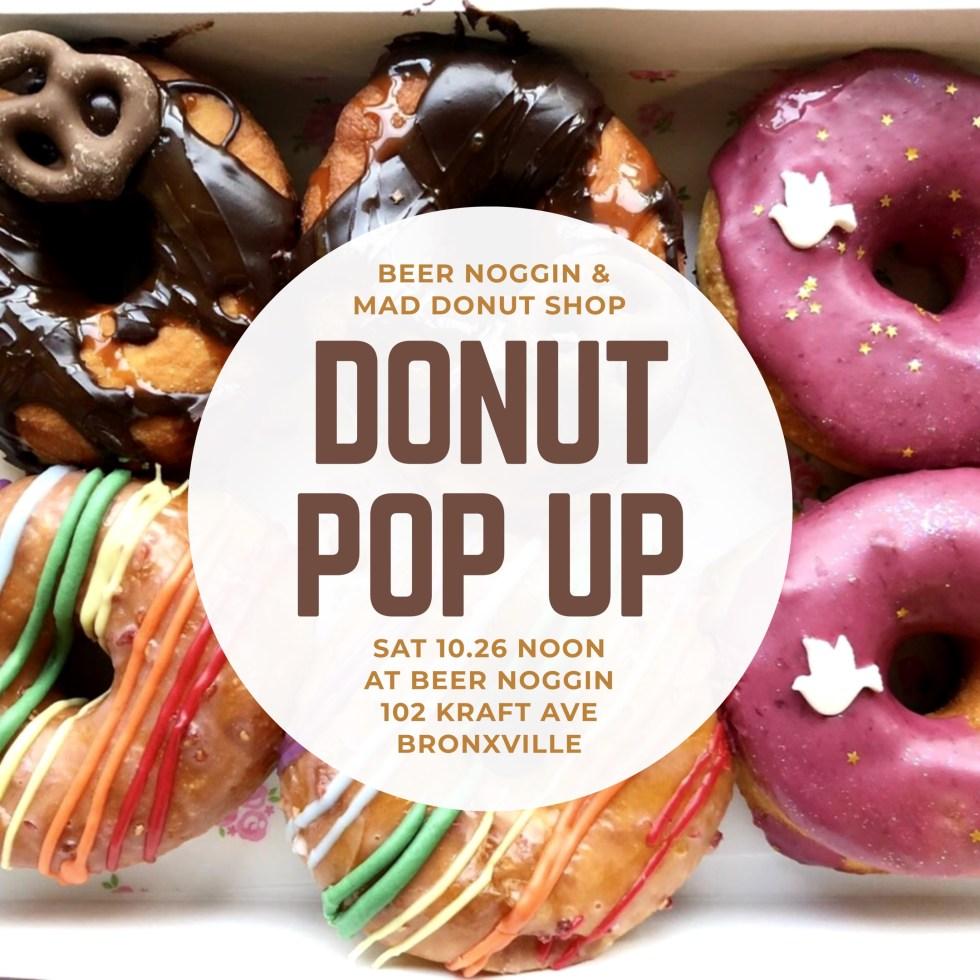 BeerNoggin Oct 26 - Half-Dozen Assorted Regular(4) and Specialty Donuts(2)