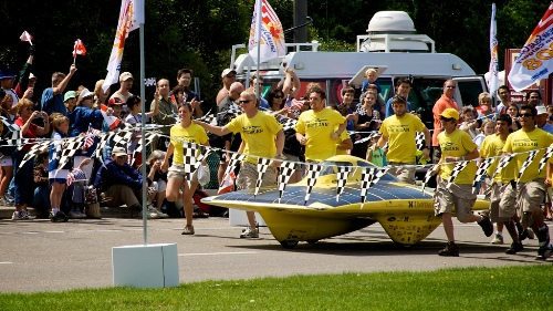 Fair use. Univ. of Michigan Solar Car Team