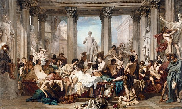Wikipedia. Thomas Couture's The Romans during the Decadence