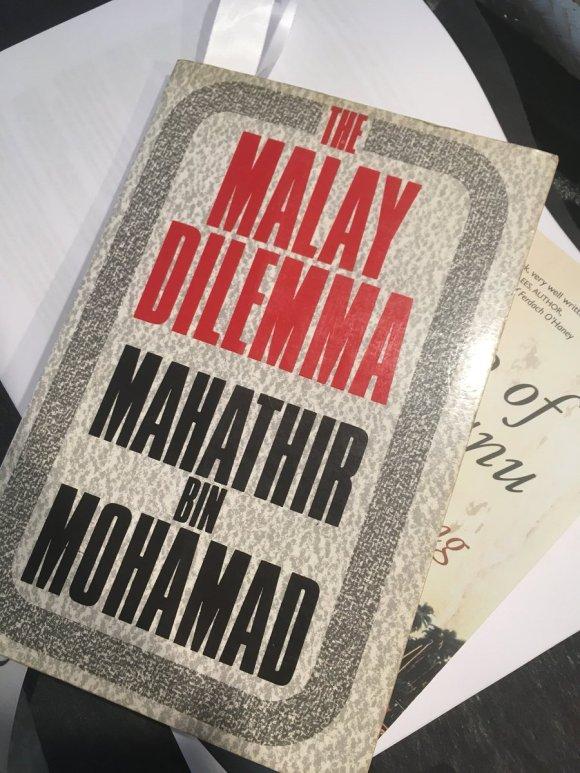 The Malay Dilemma. 1981 edition