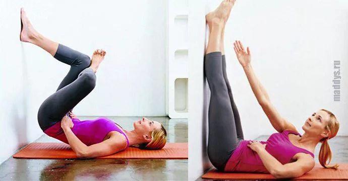 Это упражнение избавит вас от толстого живота всего за 2 недели!