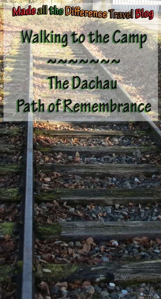 dachau path of remembrance