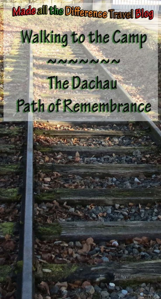 dachau path of remembrance