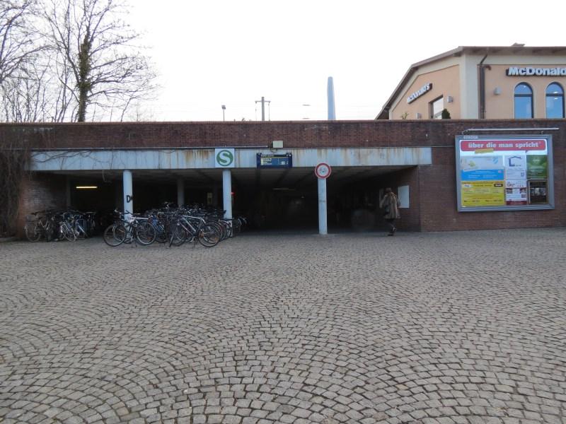 Dachau Path of Remembrance - U-Bahn Station