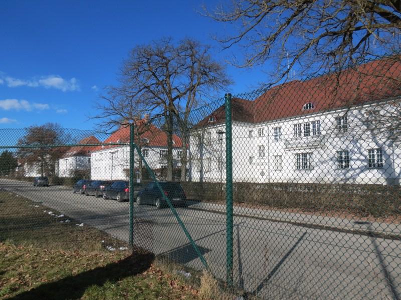 Dachau Path of Remembrance -  SS Baracks