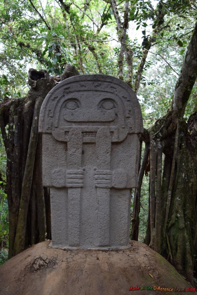 10 Epic Statues in San Agustin Parque Arqueologico