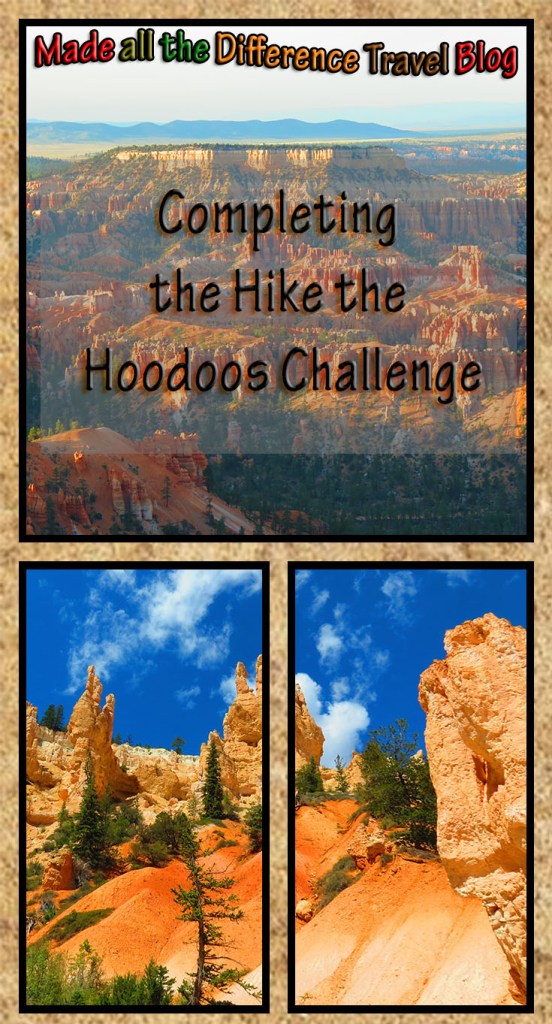 Completing the hike the hoodoos