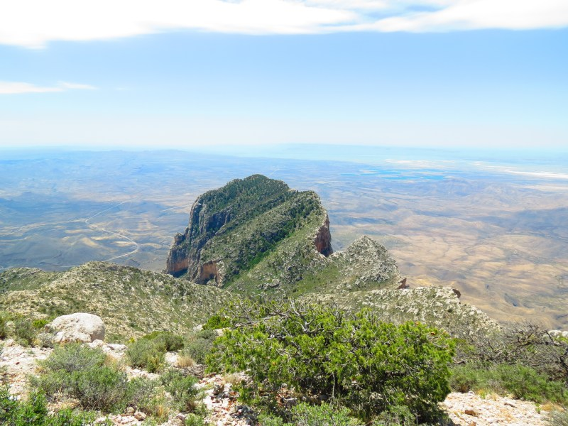 Spotlight Thursday - Summiting Guadalupe Peak in Guadalupe Mountains National Park