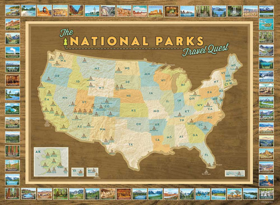 10 amazing gifts for a usa national park traveler save recently my map