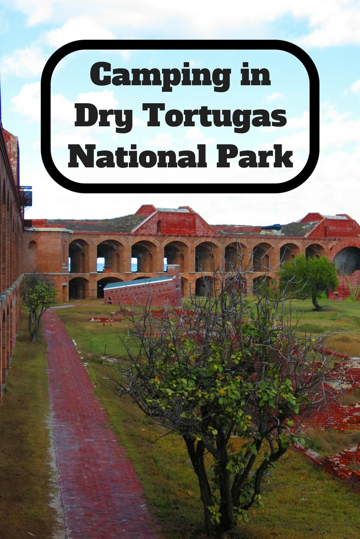 The best way to see Dry Tortugas National Park is to go camping in the park.  The campground is rarely full and is a great place to avoid the crowds and camp on a beach.  This guide will help you plan your camping trip to Dry Tortugas National Park, Florida.