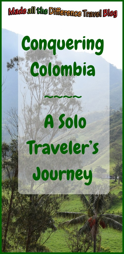 A reflection on my solo trip to Colombia after I almost panic canceled the trip in the airport. I am so glad I didn't cancel and conquered Colombia.
