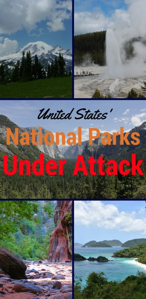 The American national parks are under attack. Our national park system has many threats, but its biggest threat is often overlooked by everyone.