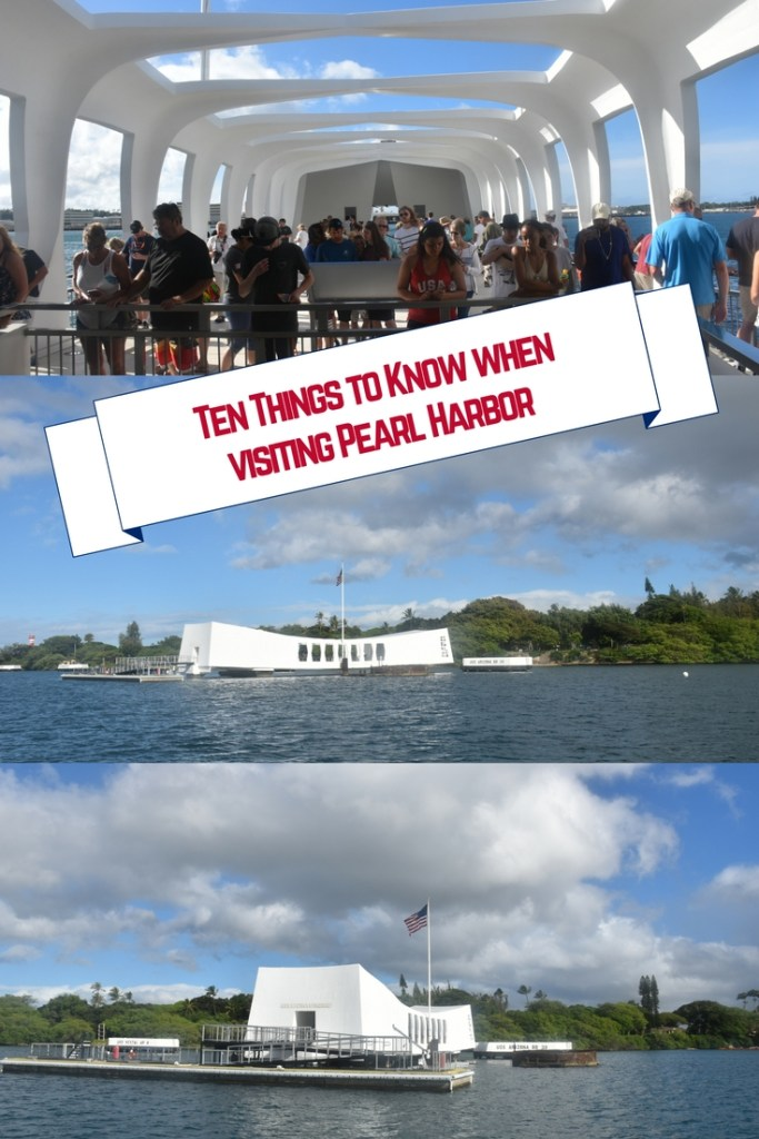 A visit to Pearl Harbor can be an emotional way to spend a day while in Oahu, Hawaii.  Here are 10 things to know when visiting Pearl Harbor.  These tips and tricks will help make the day stressfree and increase your understanding of the events of Pearl Harbor.