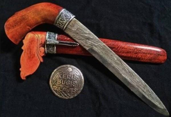 Senjata Tradisional Badik Luwu