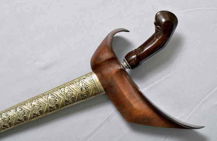 Senjata Tradisional Keris Banjar