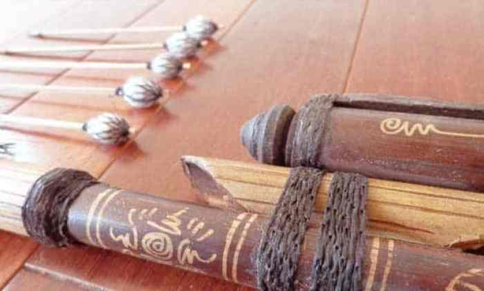 Senjata Tradisional Thulup