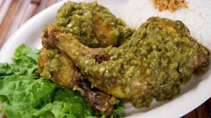 Resep Ayam Penyet Cabe Ijo