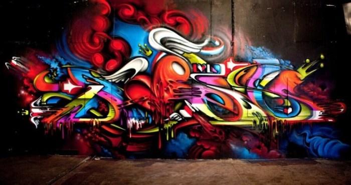 Gambar Grafiti Keren Adreff