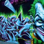 Contoh Gambar Grafiti Joker