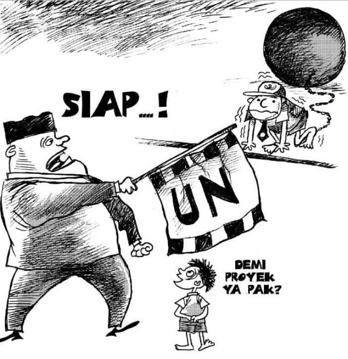 Gambar Karikatur Tema Pendidikan