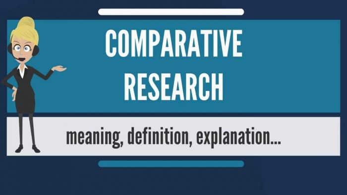 Jenis Penelitian Komparatif