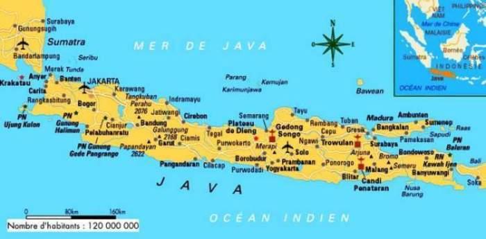 Pembagian Peta Pulau Jawa