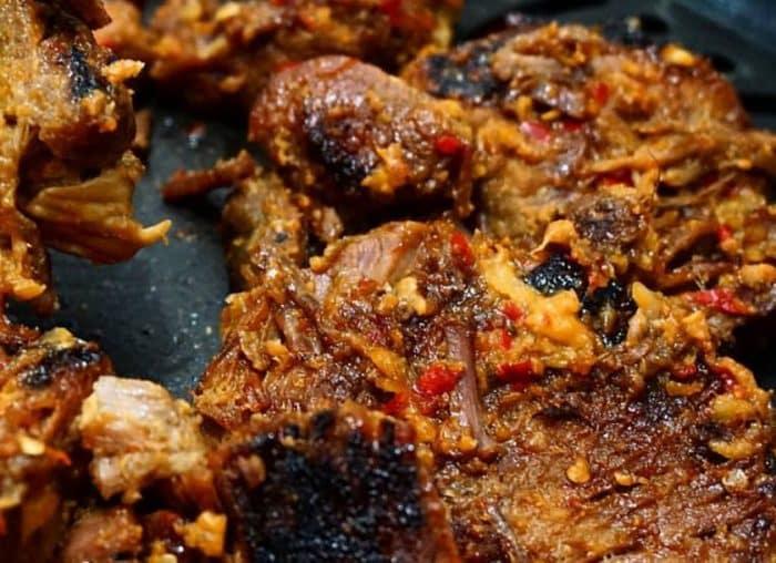Resep Empal Daging Penyet