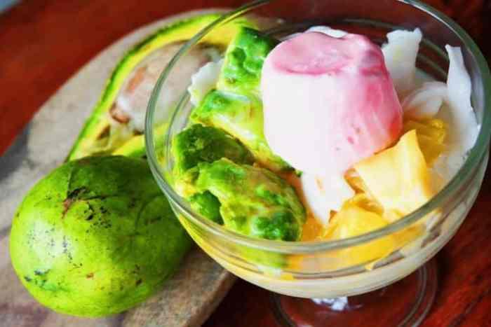Resep Es Teler Durian Alpukat Spesial yang Lezat