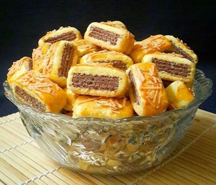 Resep Kastengel Wafer Cookies