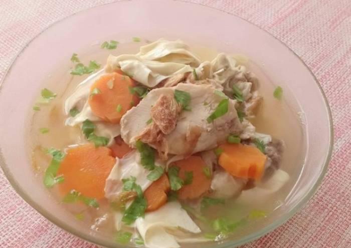 Resep Sop Ayam Kembang Tahu